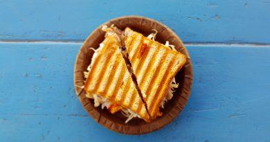 Receta: Cocina un Grilled Cheese Sandwich con Pequeño Glotón